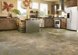 Kitchen with Alterna vinyl flooring