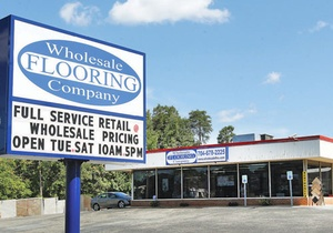 Wholesale Flooring Company storefront