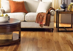 Mullican hardwood living room floor