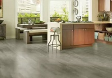 Gray Armstrong laminate flooring
